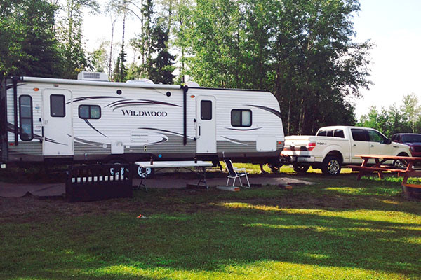 camping at lac seul golden eagle resort